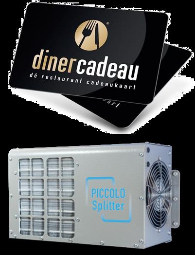 Piccolo Splitter Dinercadeaukaart Rietveldnl